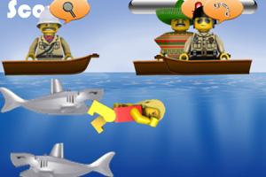《救生员大战鲨鱼》截图1