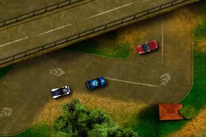 《双人高速赛》游戏画面1