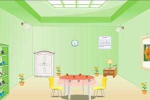 《客厅内逃脱》游戏画面1