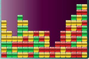 《五彩砖块消消看》游戏画面1