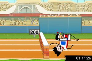 《200米赛跑》游戏画面1