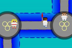 《奥运火炬传递》游戏画面1