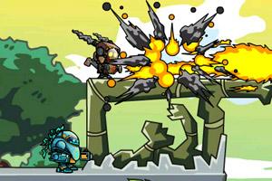 《机器侠联盟》游戏画面1