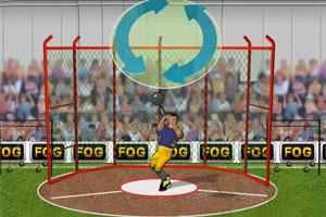 《扔链球大赛》游戏画面1