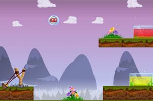 《高空弹力球》游戏画面1