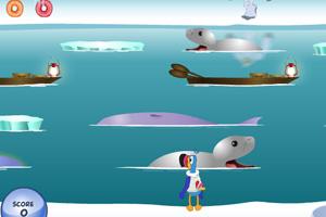 《鹦鹉冰川过河》游戏画面1
