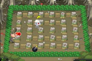 《机器泡泡堂》游戏画面1