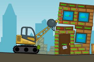 《城市拆迁队》游戏画面1