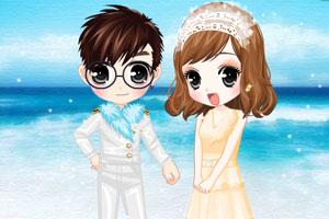 《蔚蓝海岸婚礼》游戏画面1