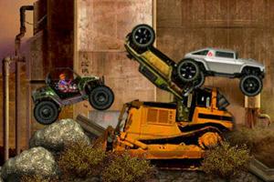 《暴力越野车赛》游戏画面1