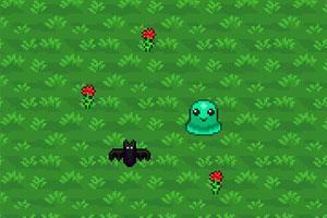 《外星人采花》游戏画面1