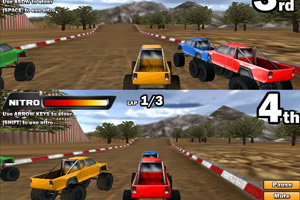 《双人3D四驱车赛》截图1