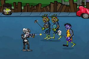 《未来战士杀僵尸》游戏画面1