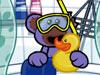 为小熊洗澡