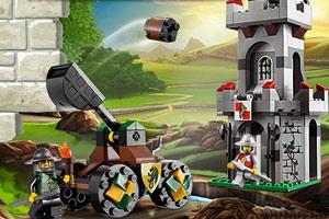 《乐高城堡攻防战》游戏画面1