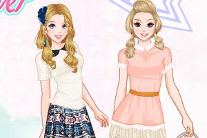 《贝拉姐妹浪漫夏天》游戏画面1