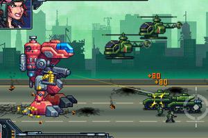 《机器人攻城战无敌版》游戏画面1