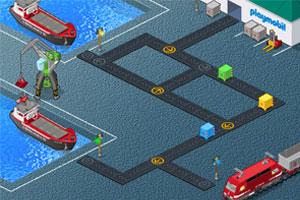 《传送集装箱》游戏画面1