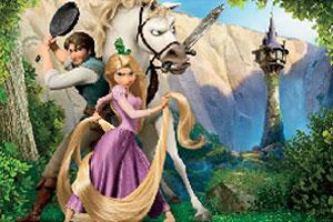 《王子与公主拼图》游戏画面1