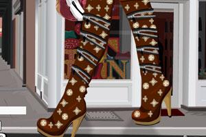 《时尚长筒靴》截图1