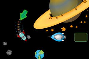 《太空中的火箭》游戏画面1