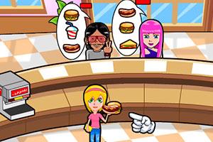 《美眉汉堡店》游戏画面1