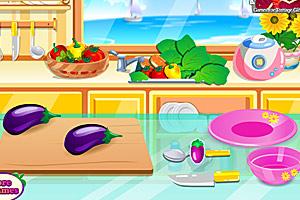 《美味乳酪酿茄子》游戏画面1