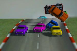 《马路大战赛车》游戏画面1