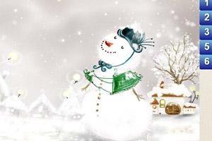 《冬天找数字》游戏画面1