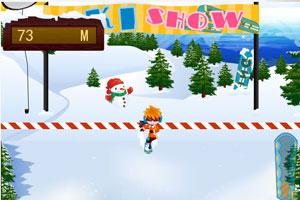 《高山滑雪挑战赛》游戏画面1