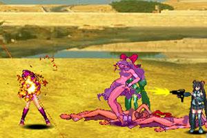 《美少女大作战5》游戏画面1