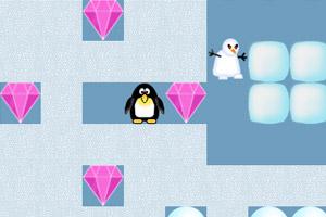 《企鹅雪地冒险》游戏画面1