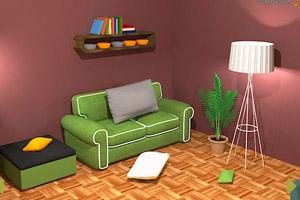 《漂亮客厅逃脱》游戏画面1
