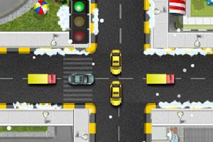 《圣诞节指挥交通》游戏画面1
