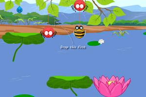 《可怜的小蜜蜂选关版》游戏画面1