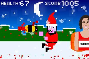 《圣诞老人疯狂夜》游戏画面1