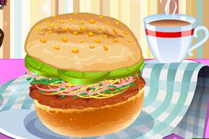 《装饰快餐桌》游戏画面1