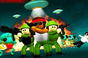 《特种兵小队无敌版》游戏画面1