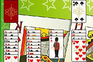 《新意扑克接龙》游戏画面1