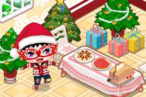 《布置圣诞派对》游戏画面1