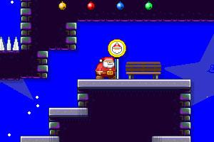 《圣诞老人快点跑增强版》游戏画面1