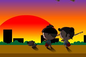 《细哥细妹钓鱼记》游戏画面1