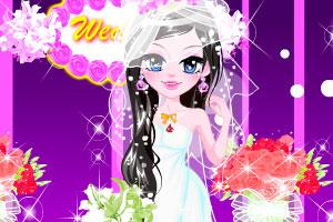 《女孩的婚纱礼服》游戏画面1