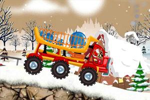 《圣诞卡车运礼物2无敌版》游戏画面1