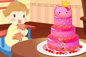 《宝宝一岁生日蛋糕》截图1