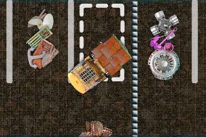 《港口停靠装载车》游戏画面1