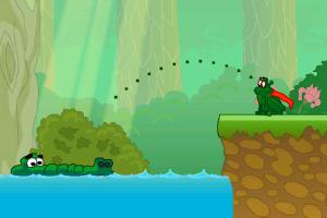 《超级青蛙冒险》游戏画面1