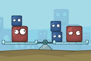 《平衡方块》游戏画面1