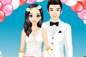 《时尚的婚纱礼服》游戏画面1