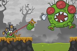 《小青蛙吃害虫无敌版》游戏画面1